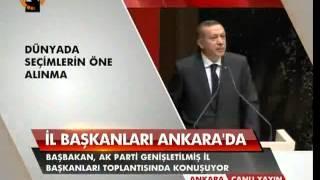 Başbakan Erdoğan.17 Ekim 2012 Genişletilmiş İl Başkanları Toplantısı Konuşması - 2