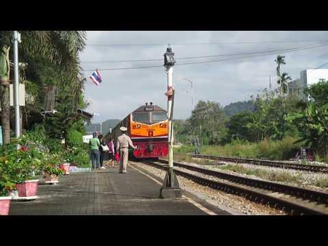 บรรยากาศสถานีรถไฟใสใหญ่ # Railway Thailand