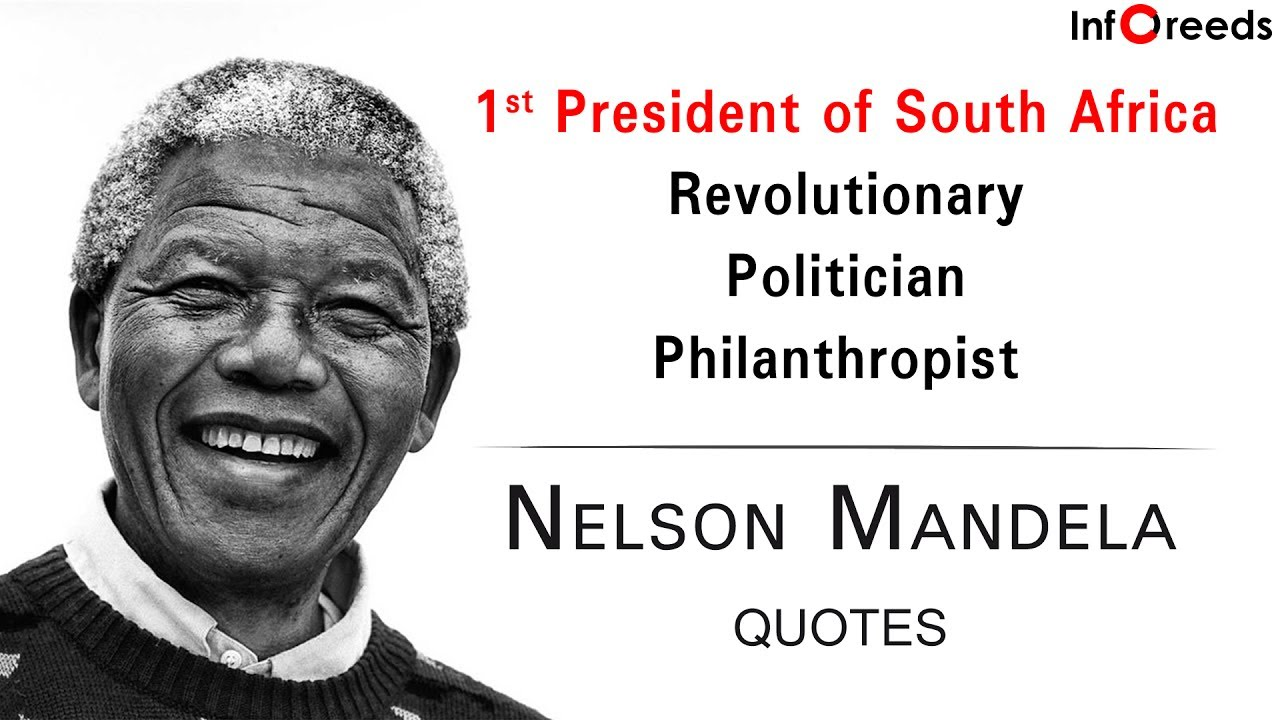 Nelson Mandela Quotes Quotes On Life Success Freedom Education