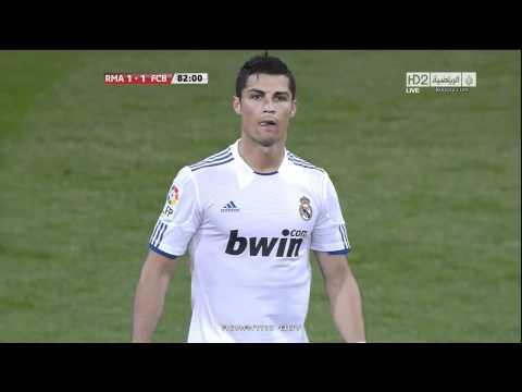 ريال مدريد vs برشلونه 1-1 HD هدف التعادل عصام الشوالي