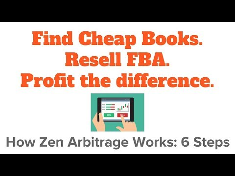 Zen Arbitrage: World's first, biggest, & best online book arbitrage tool for Amazon FBA sellers