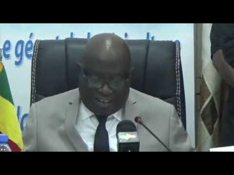 Le PDG de l'Office du Niger lors de la 44ème session du CA de son entreprise