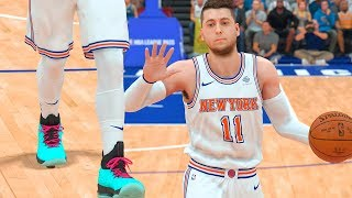 NBA 2k19 My Career - First Game With Knicks Ep.6