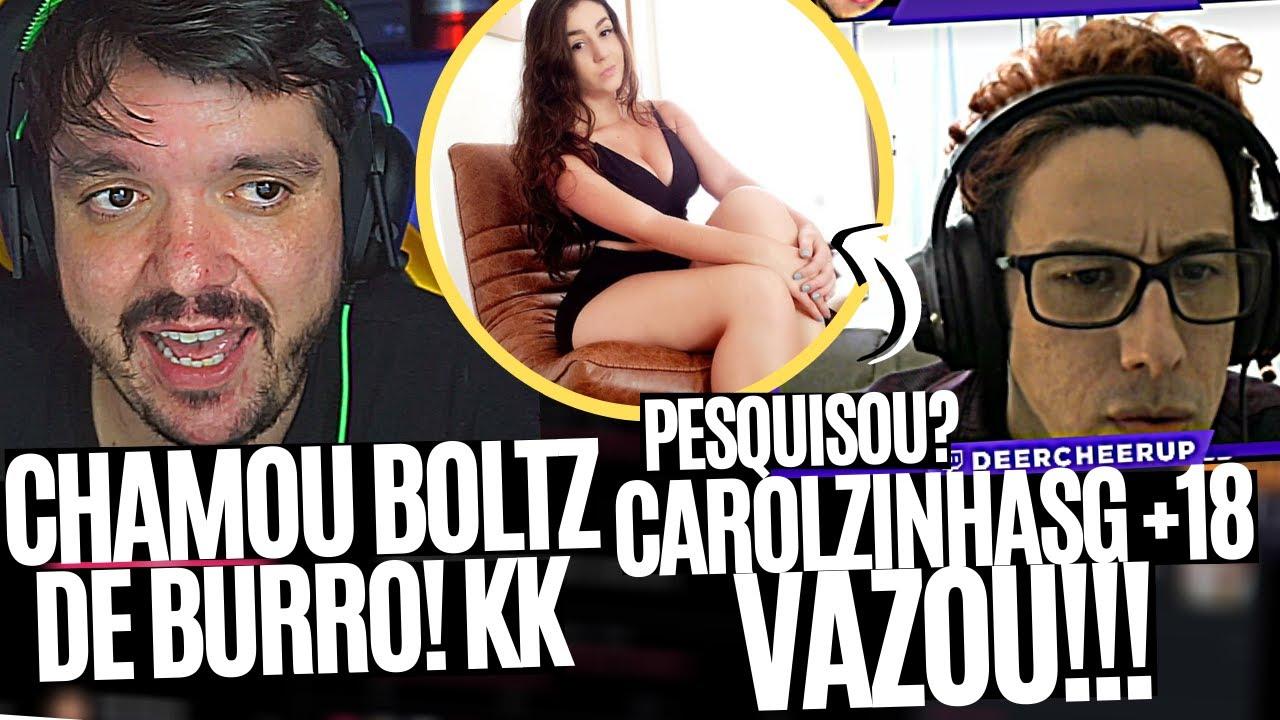 GAU CHAMA BOLTZ DE BURRO, LINDINHO VAZA PESQUISA DA CAROLZINHASG +18?; FELPERA NO CLUTCH E MAIS!