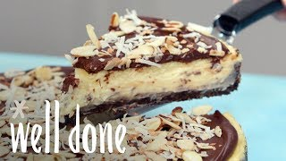 How to Make Almond Joy Cheesecake | Recipe | Well Done