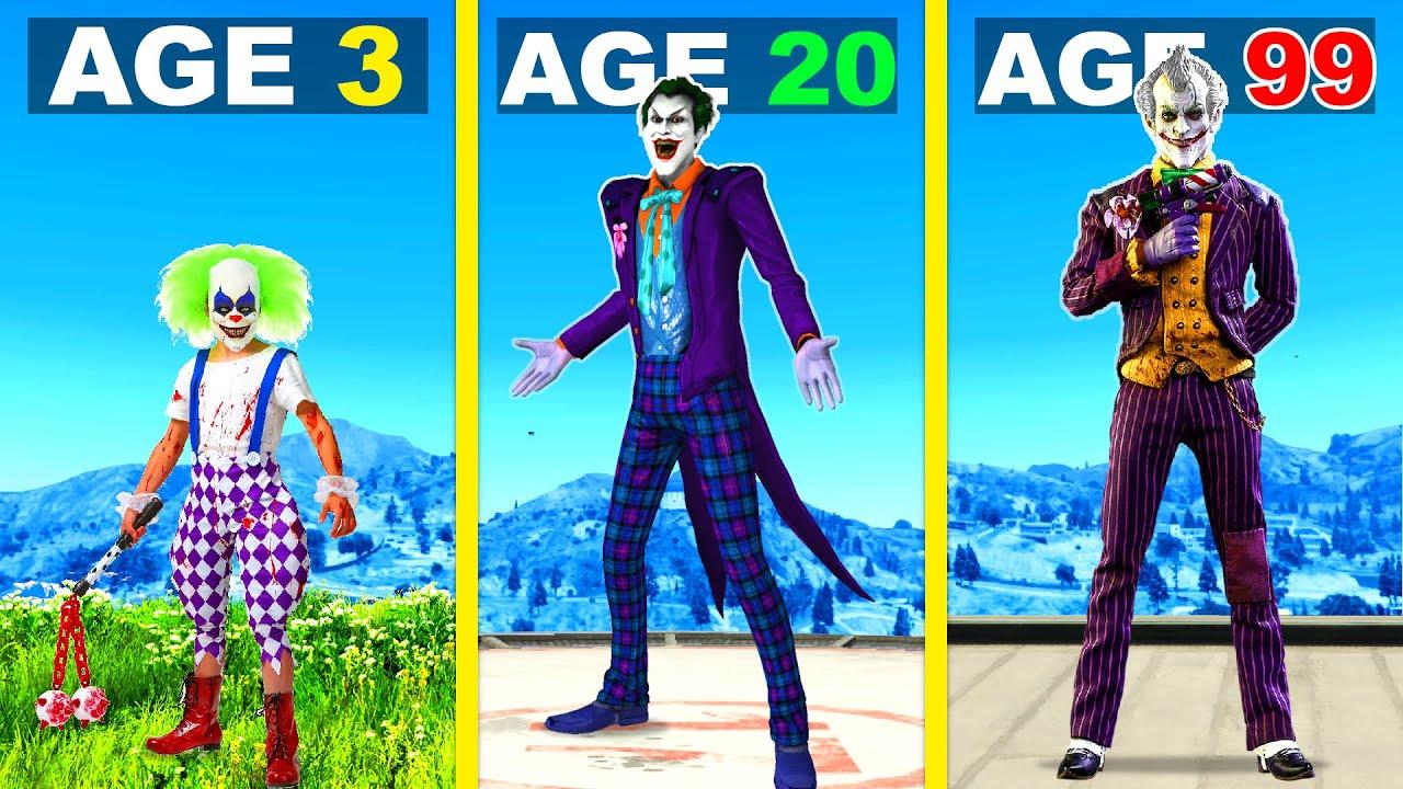 Surviving 99 YEARS As THE JOKER In GTA 5 ...