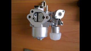 видео Топливная система двигателя Robin-Subaru EX21