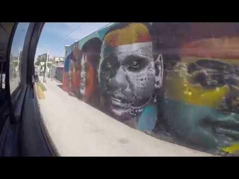 Taking the bus in Tijuana