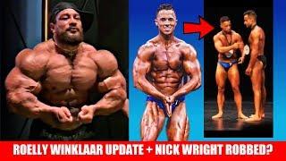 Roelly Winklaar 10 Weeks Out + Weird Bodybuilding Judging + Lee Preist VS Gold's Gym