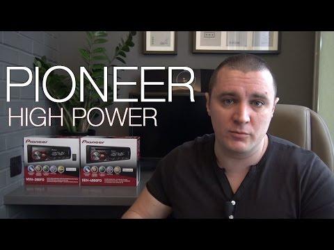 Pioneer 280FD и 4800FD HIGH POWER HEAD UNIT Обзор [eng sub]