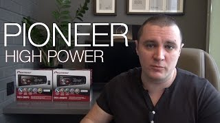 Pioneer 280FD и 4800FD HIGH POWER HEAD UNIT Обзор [eng sub]
