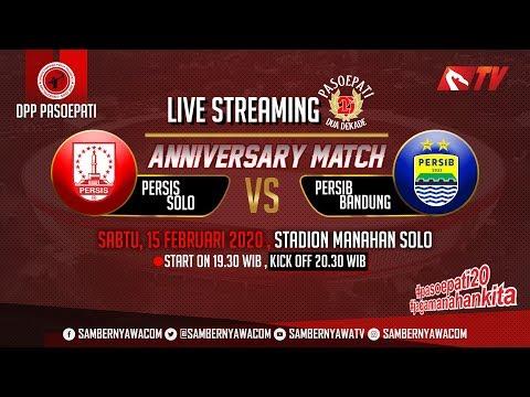 Persis Solo Vs Persib Bandung Anniversary Match 20 Tahun Pasoepati & Peresmian Stadion Manahan