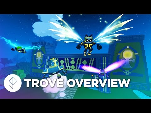 How Trove blends Minecraft, MMO mechanics, Candyland and fancy dinosaurs