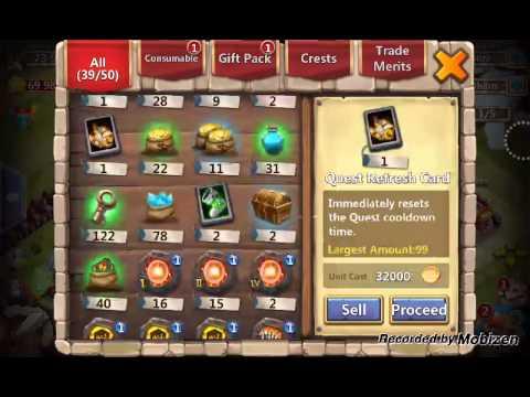 Castle Clash Mesa 4 Rewards Mythnic Chests