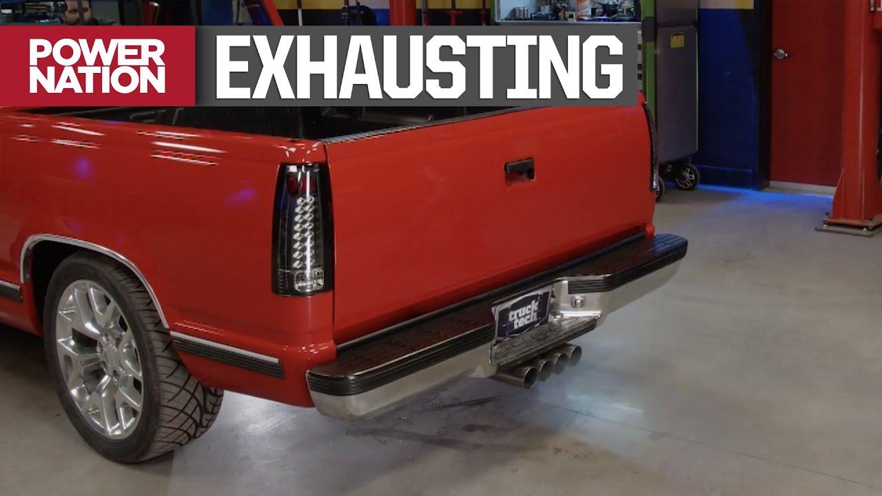 Download Building a Custom K1500 Quad Tip Exhaust - Truck Tech S6, E9
