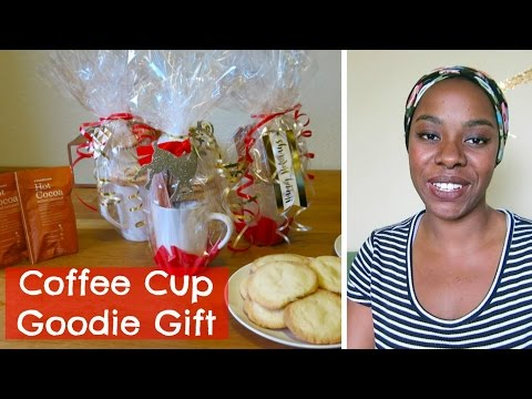 DIY: Coffee Cup Goodie Gift | Affordable Christmas Gift Idea | Mommy Monday | It's The Reeds