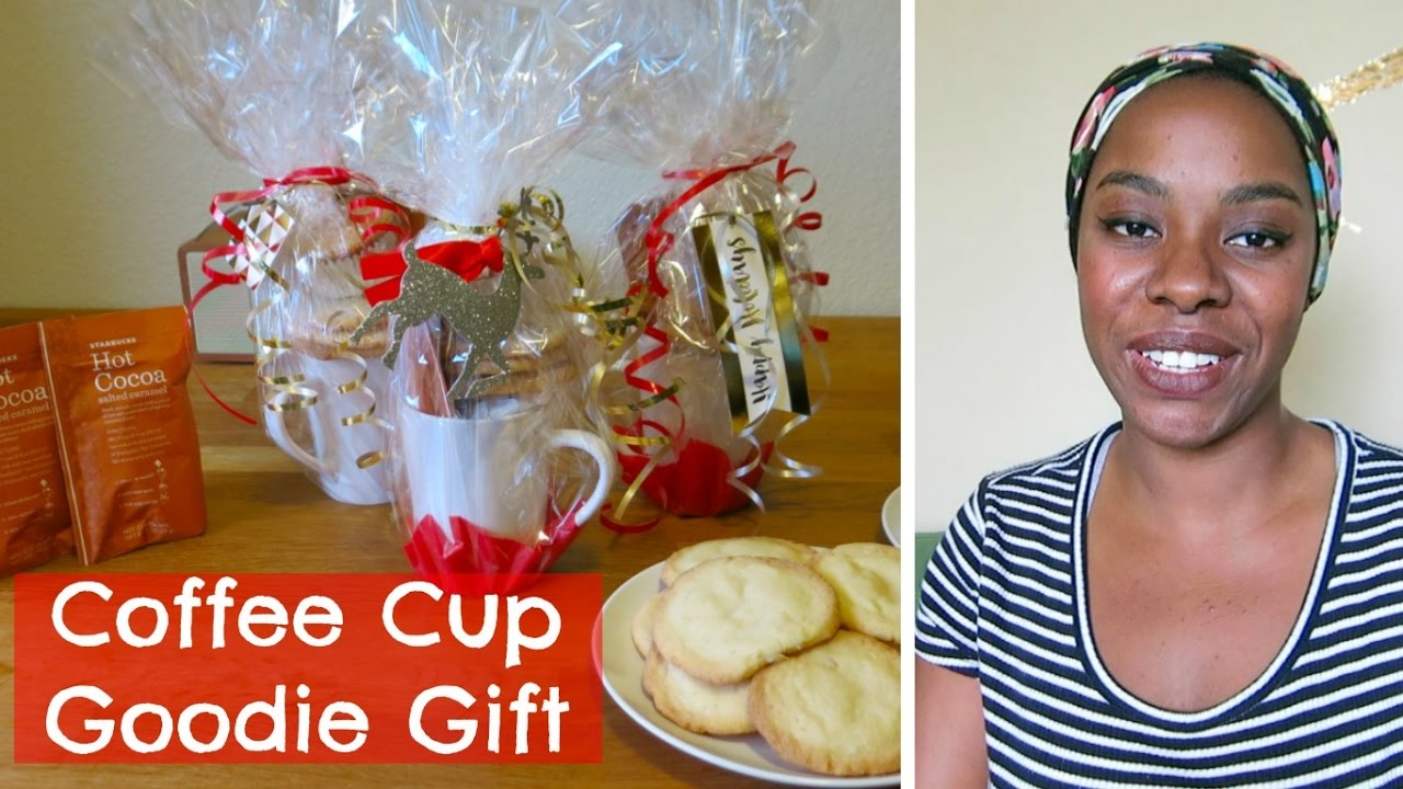 Diy Coffee Cup Goodie Gift Affordable Christmas Gift Idea Mommy Monday Sweet Moments Of Mine Youtube
