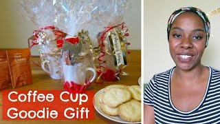 Diy: Coffee Cup Goodie Gift | Affordable Christmas Gift Idea | Mommy Monday | Sweet Moments Of Mine