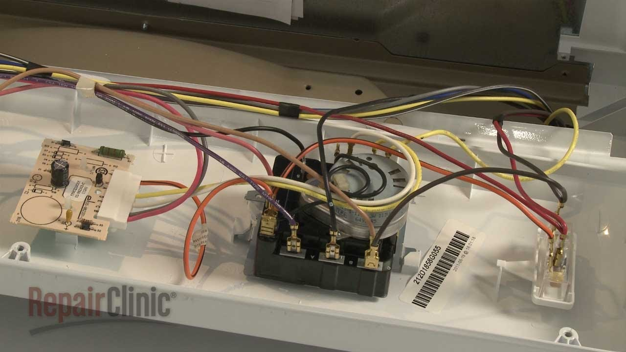 Dryer Timer Replacement  GE Dryer Repair (part #WE4M365
