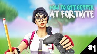 How You Can Get Better at Fortnite! In Depth Tutorial That WILL Make You Better! (ep 1 - Building)