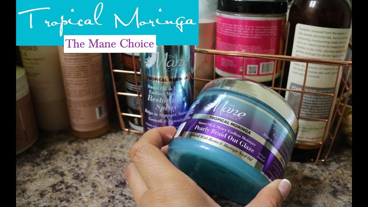 🌴💦Tropical Moringa Sweet Oil & Honey Endless Moisture Products | The Mane  Choice