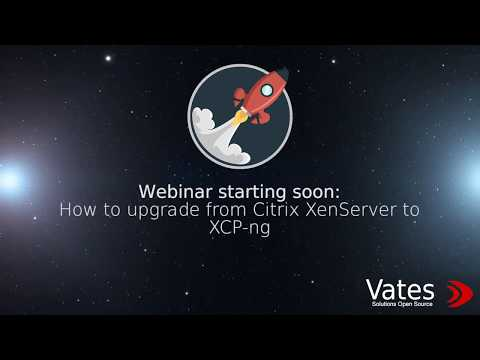 How to upgrade from XenServer to XCP-ng