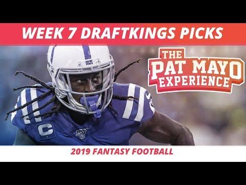 2019 Fantasy Football Rankings — NFL Week 7 DraftKings Picks, Predictions, Preview, Sleepers