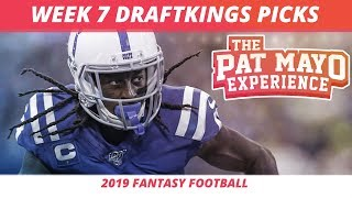 2019 Fantasy Football Rankings — NFL Week 7 DraftKings Picks, Predictions, Preview, Sleepers