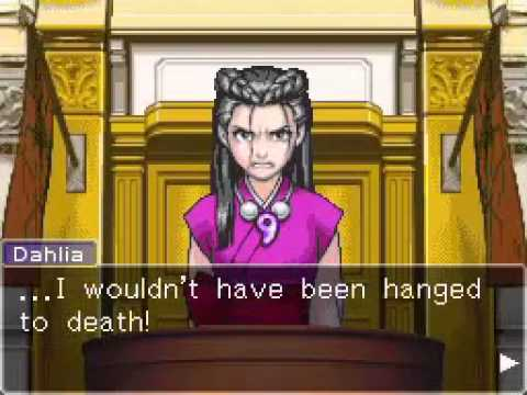 Phoenix Wright: Trials and Tribulations - Dahlia Hawthorne's Breakdown