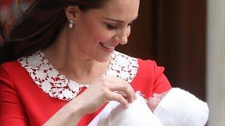 Герцогиня Кембриджская родила принца и уже уехала домой