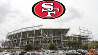HIGHLIGHTS of 49ers 2016 Super Bowl Bid Briefing and new Santa Clara Stadium Tour