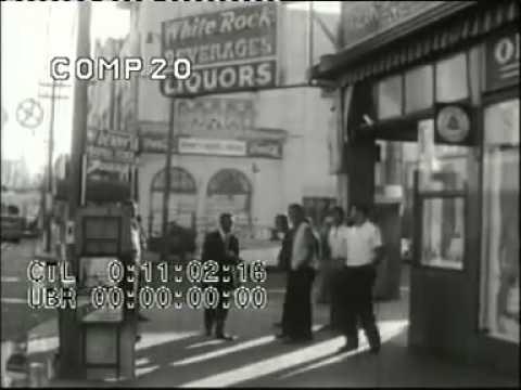 1950's San Francisco Asian Black Mexican street gangs