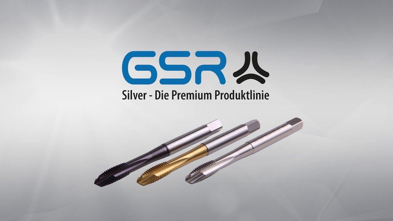 Die Premium Maschinengewindebohrer Von Gustav Stursberg Gsr Silver