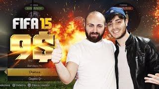 GAMEPLAY FIFA 15 CON SOLDI VERI - TERZO MATCH (9 dollari SCOMMESSI)