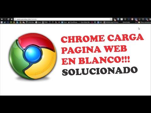 Pagina Web carga en blanco SOLUCIONADO!!! - YouTube
