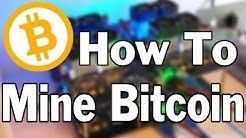 Bitcoin Mining Setup with NiceHash and Coinbase