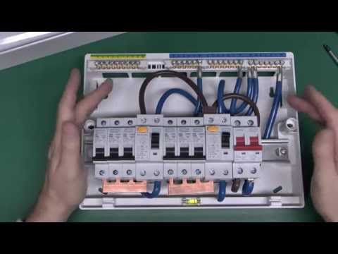 mk sentry 12 module metal consumer unit with 100a switch rh youtube com CT Meter Wiring Diagram Light Switch Home Wiring Diagram