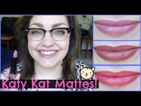 Let's Test!: CoverGirl Katy Kat Matte Lipsticks