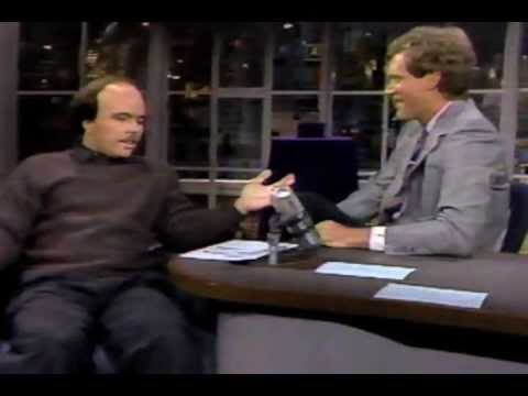 Letterman: Clint Howard  1986