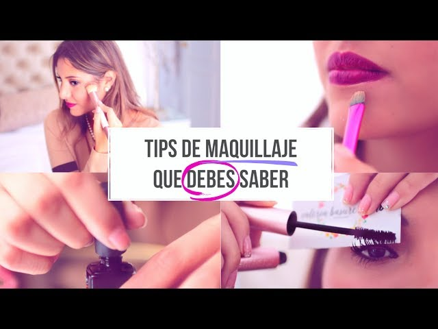 TIPS DE BELLEZA QUE DEBES SABER!!| Valeria Basurco