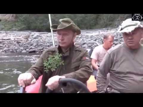 Vladimir Putin on vacation in Siberia