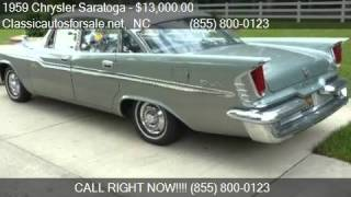 1959 Chrysler Saratoga  for sale in Nationwide, NC 27603 at #VNclassics
