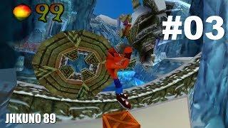 CRASH BANDICOOT 2: Cortex Strikes Back Gameplay comentado parte 3