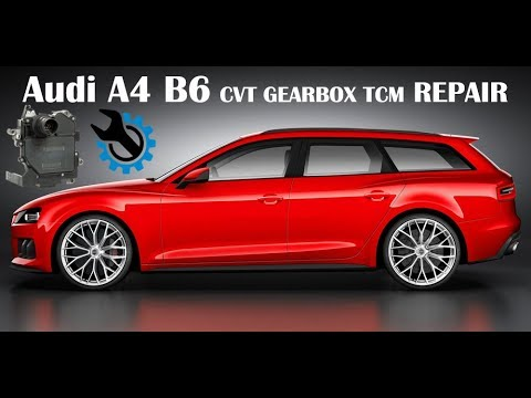 audi a4 b6 cvt gearbox tcm repair youtube. Black Bedroom Furniture Sets. Home Design Ideas