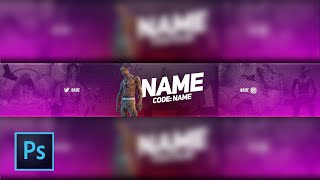 *FREE* Fortnite Travis Scott Youtube Banner Template PSD Download