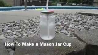 How to Make a Mason Jar Cup Thumbnail