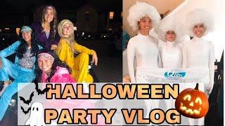 SPOOKY SZN   HALLOWEEN PARTY VLOG!!!!   creative halloween costumes ideas