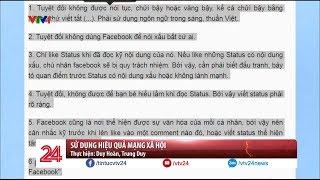 Sử dụng hiệu quả mạng xã hội  - Tin Tức VTV24