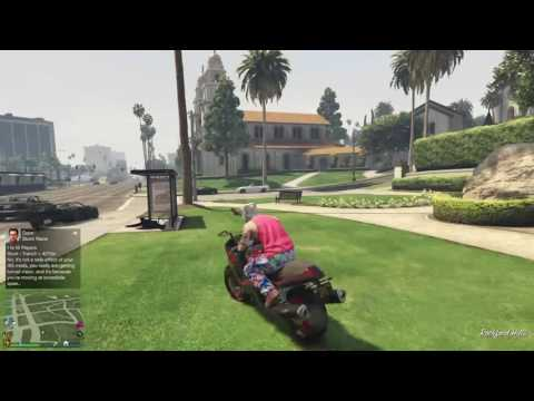 GTA V lost my mask racing LIVE ON THE PS4
