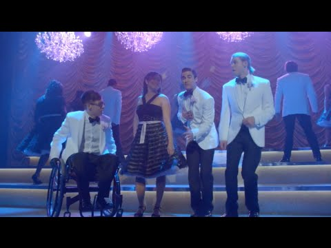 GLEE - I Still Haven't Found What I'm Looking For (Full Performance) HD